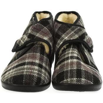 Topánky Muži Papuče Mjartan Pánske papuče  MILAN 3 tmavosivá