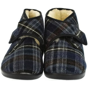 Topánky Muži Papuče Mjartan Pánske papuče  MILAN tmavomodrá