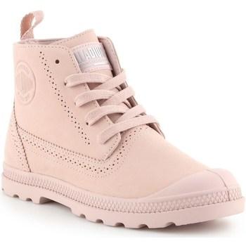 Topánky Ženy Polokozačky Palladium Pampa Ldn LP Ružová