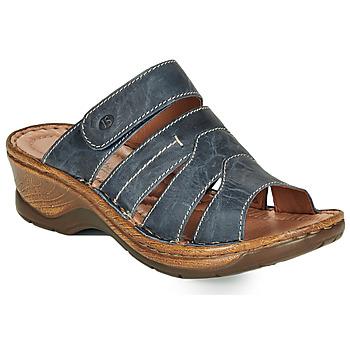 Topánky Ženy Šľapky Josef Seibel CATALONIA 49 Modrá
