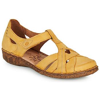 Topánky Ženy Sandále Josef Seibel ROSALIE 29 Žltá