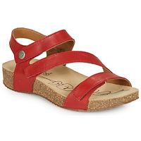 Topánky Ženy Sandále Josef Seibel TONGA 25 Červená