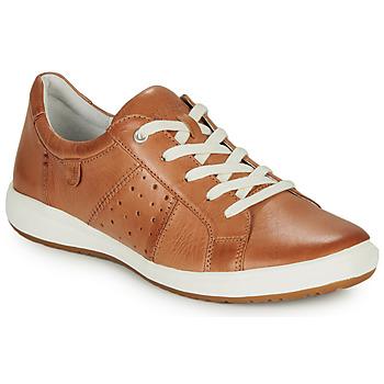 Topánky Ženy Nízke tenisky Josef Seibel CAREN 01 Ťavia hnedá