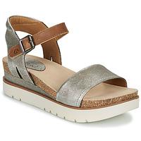 Topánky Ženy Sandále Josef Seibel CLEA 01 Strieborná