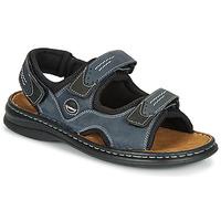 Topánky Muži Športové sandále Josef Seibel FRANKLIN Modrá