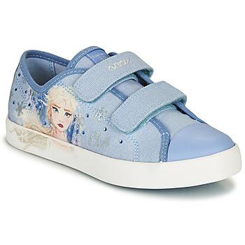 Topánky Dievčatá Nízke tenisky Geox JR CIAK GIRL Modrá