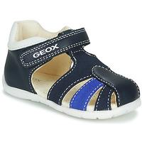 Topánky Chlapci Sandále Geox B ELTHAN BOY Námornícka modrá / Biela