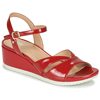 Topánky Ženy Sandále Geox D ISCHIA Červená