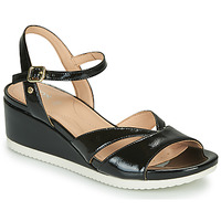 Topánky Ženy Sandále Geox D ISCHIA Čierna
