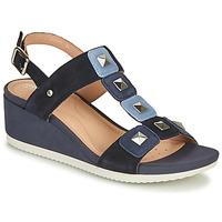 Topánky Ženy Sandále Geox D ISCHIA Modrá