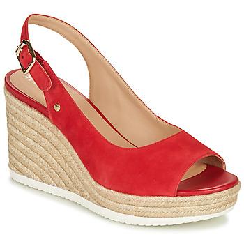 Topánky Ženy Nízke tenisky Geox D PONZA Červená