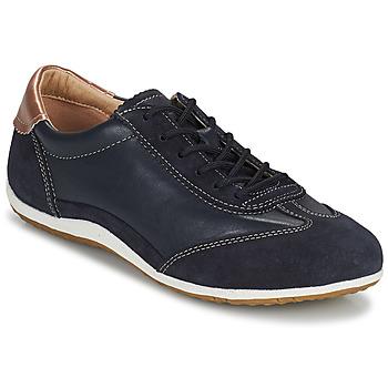 Topánky Ženy Nízke tenisky Geox D VEGA Námornícka modrá