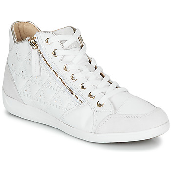 Topánky Ženy Členkové tenisky Geox D MYRIA Biela