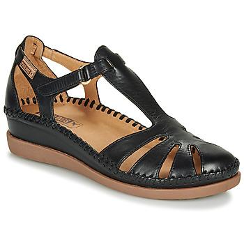 Topánky Ženy Balerínky a babies Pikolinos CADAQUES W8K Čierna