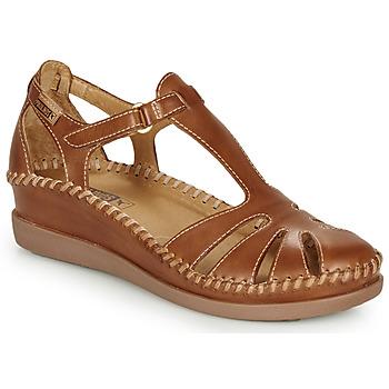 Topánky Ženy Balerínky a babies Pikolinos CADAQUES W8K Ťavia hnedá