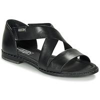 Topánky Ženy Sandále Pikolinos ALGAR W0X Čierna