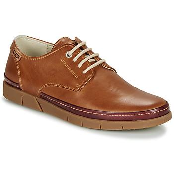 Topánky Muži Derbie Pikolinos PALAMOS M0R Brandy