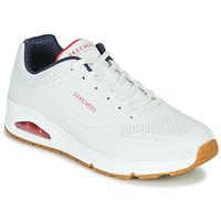Topánky Muži Nízke tenisky Skechers UNO STAND ON AIR Biela