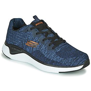 Topánky Muži Fitness Skechers SOLAR FUSE KRYZIK Námornícka modrá / Čierna