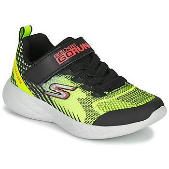 Topánky Chlapci Univerzálna športová obuv Skechers GO RUN 600 BAXTUX Čierna / Žltá