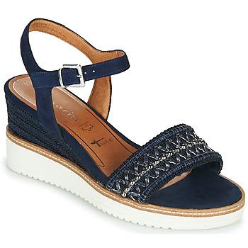 Topánky Ženy Sandále Tamaris ALIS Námornícka modrá