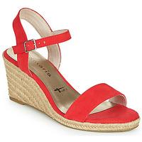 Topánky Ženy Sandále Tamaris LIVIA Červená