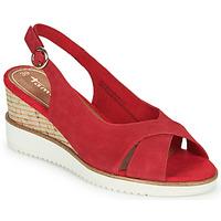 Topánky Ženy Sandále Tamaris ALIS Červená
