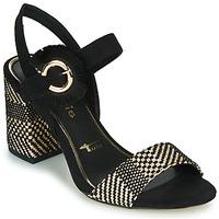 Topánky Ženy Sandále Tamaris CALLIE Čierna