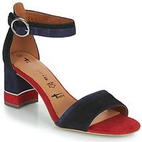 Topánky Ženy Sandále Tamaris DALINA Námornícka modrá / Červená
