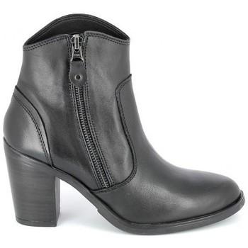 Topánky Ženy Čižmičky Porronet Boots Acap Noir Čierna