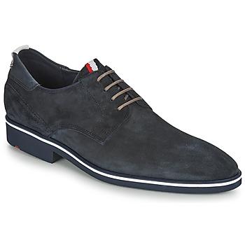 Topánky Muži Derbie Lloyd JERSEY Námornícka modrá