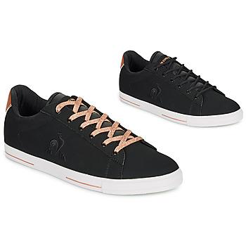 Topánky Ženy Nízke tenisky Le Coq Sportif AGATE METALLIC Čierna / Zlatá