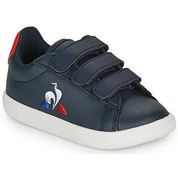 Topánky Deti Nízke tenisky Le Coq Sportif COURTSET INF Námornícka modrá / Červená