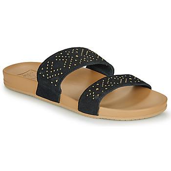 Topánky Ženy Žabky Reef CUSHION BOUNCE VISTA Čierna