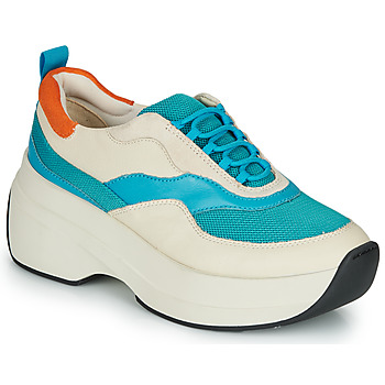 Topánky Ženy Nízke tenisky Vagabond SPRINT 2.0 Béžová / Modrá