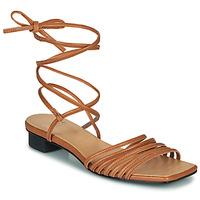 Topánky Ženy Sandále Vagabond ANNI Ťavia hnedá