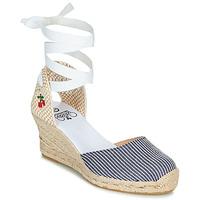 Topánky Ženy Sandále Le Temps des Cerises POLY Modrá / Biela
