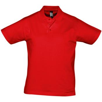 Oblečenie Muži Polokošele s krátkym rukávom Sols PRESCOTT CASUAL DAY Rojo