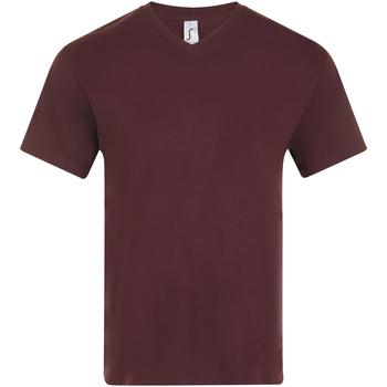 Oblečenie Muži Tričká s krátkym rukávom Sols VICTORY COLORS Violeta