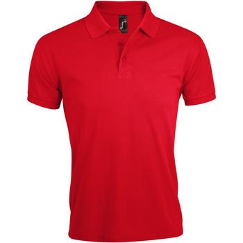Oblečenie Muži Polokošele s krátkym rukávom Sols PRIME ELEGANT MEN Rojo