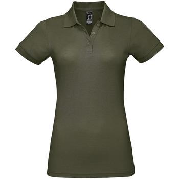 Oblečenie Ženy Polokošele s krátkym rukávom Sols PRIME ELEGANT WOMEN Verde
