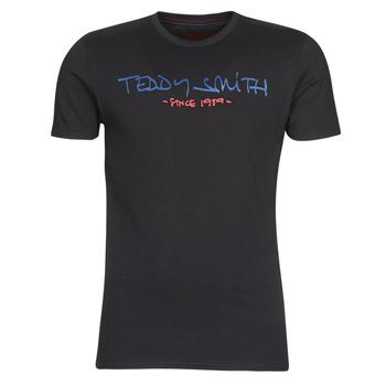 Oblečenie Muži Tričká s krátkym rukávom Teddy Smith TICLASS Čierna