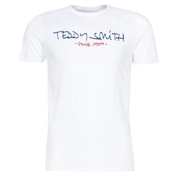 Oblečenie Muži Tričká s krátkym rukávom Teddy Smith TICLASS Biela