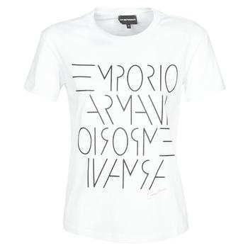 Oblečenie Ženy Tričká s krátkym rukávom Emporio Armani DONOVANN Biela