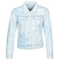 Oblečenie Ženy Džínsové bundy Desigual WHAII Modrá