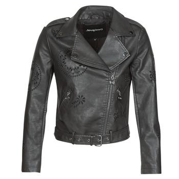 Oblečenie Ženy Kožené bundy a syntetické bundy Desigual UTAH Čierna