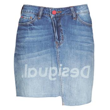 Oblečenie Ženy Sukňa Desigual LOG Modrá