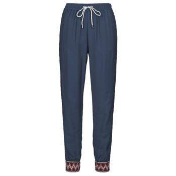 Oblečenie Ženy Padavé nohavice Desigual ISABELLA Námornícka modrá