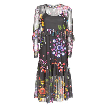 Oblečenie Ženy Dlhé šaty Desigual PORTLAND Viacfarebná