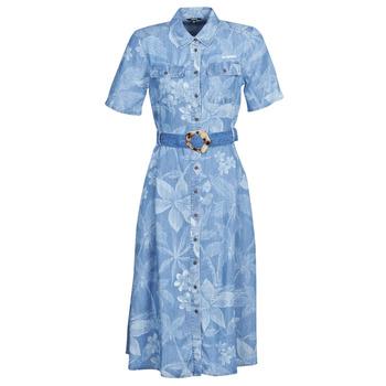 Oblečenie Ženy Dlhé šaty Desigual KATE Modrá